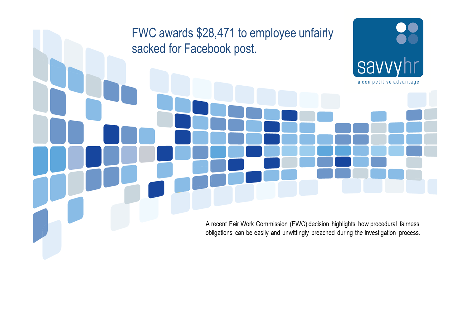 FWC awards 28471 to employee unfairly sacked for Facebook post